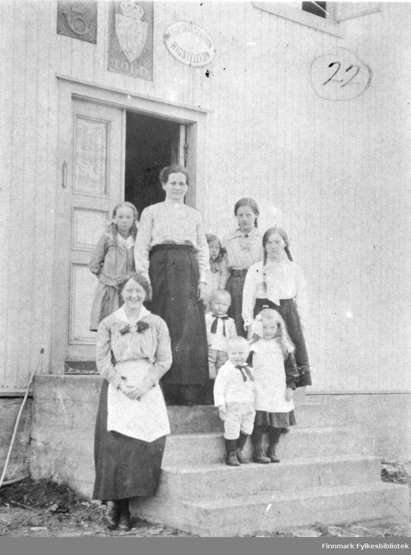 Vestre Grense Jakobselv april-mai 1918