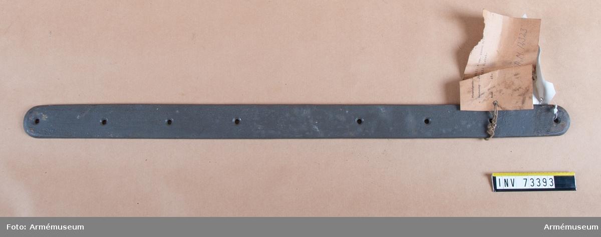 Grupp F.III. Järnskena till tistel till 7 cm kanon m/1887.