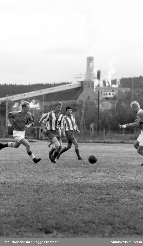 Norske fotbollsspelaren Gunnar Dybwad i Wifsta Östrand.
