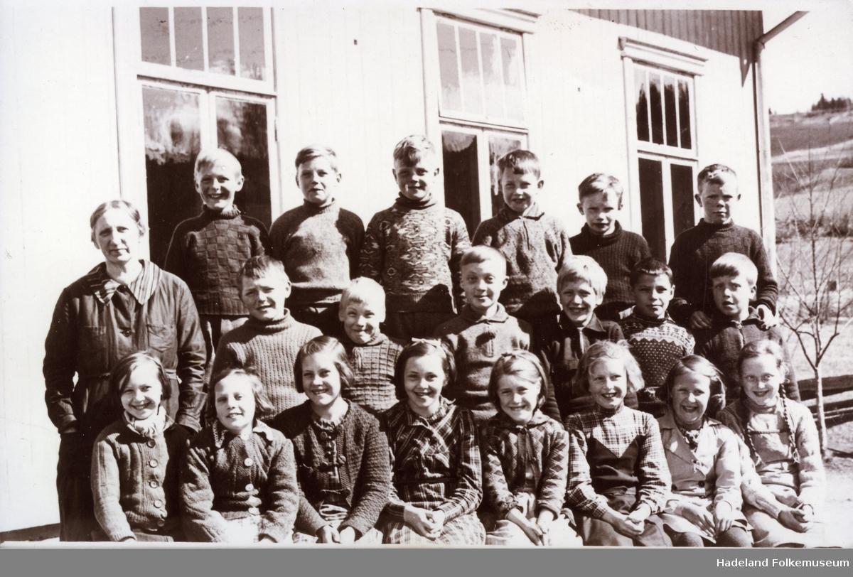 Skolebilde Bjørklund skole