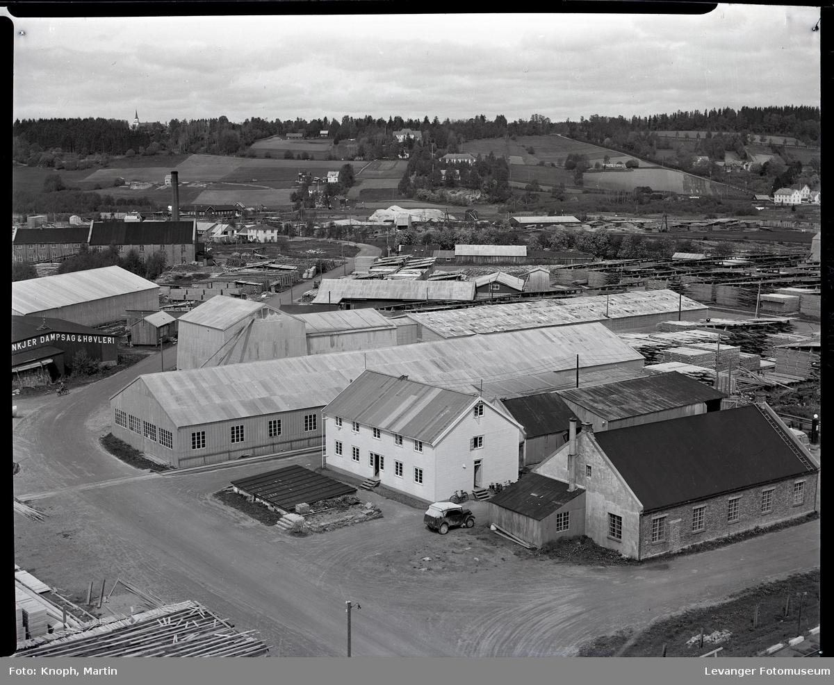 Kirknesvågen sagbruk. Steinkjer Dampsag & Høvleri
