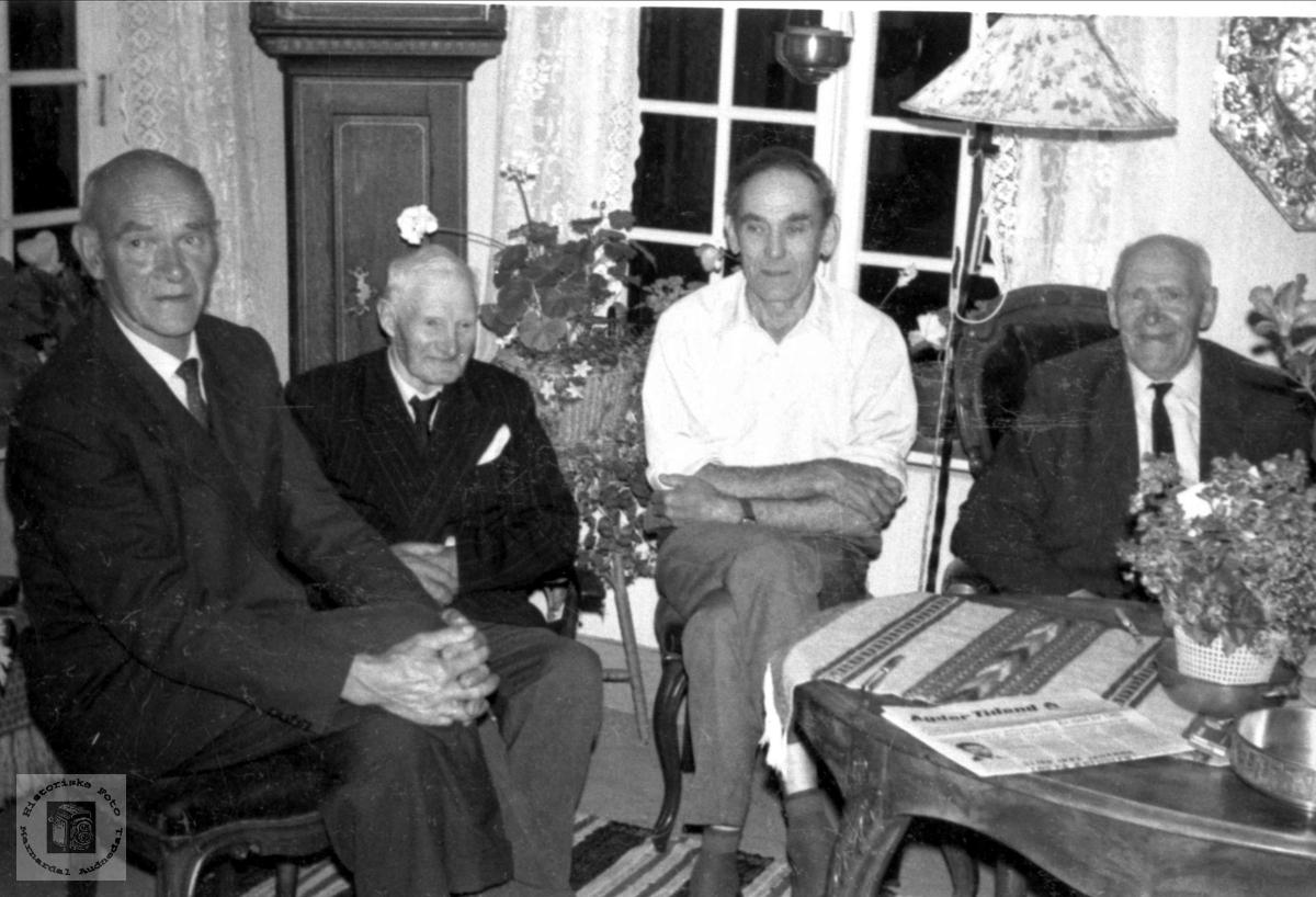 Arne Høye`s 70 årsdag.
