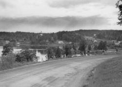 Nössemark, utsikt över Stora Lee.