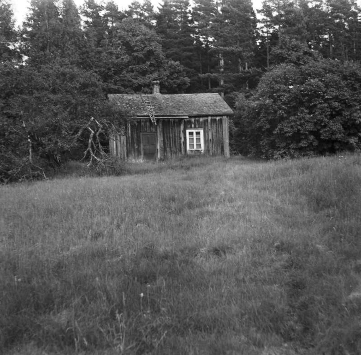 Ölme. Lars Lämgrens forna soldattorp, Juli 1955.