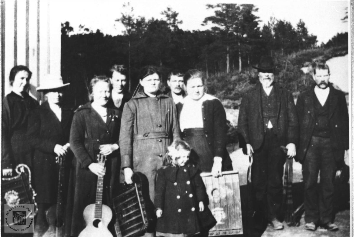 Musikkor, Eikså kr. ungdomsforening