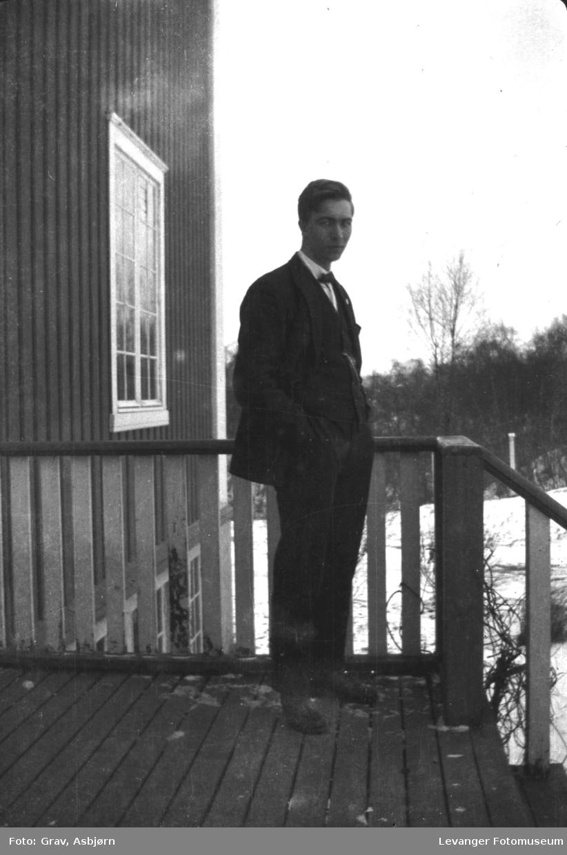 Portrett, ung mann