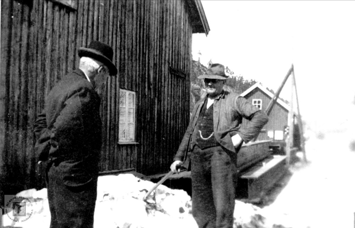 Thomas Fossestøl og Asbjørn Øyslebø