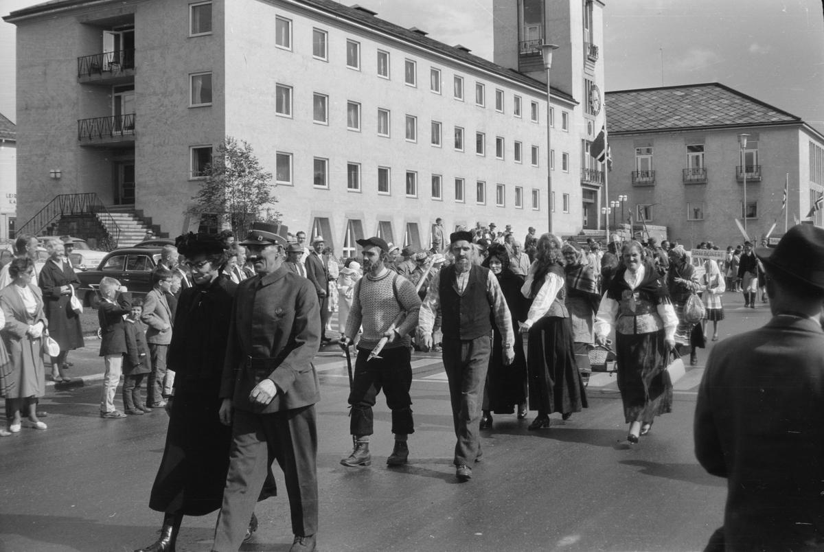 Glomdalsbruden 1963. Opptog, Leiret. Elverum.