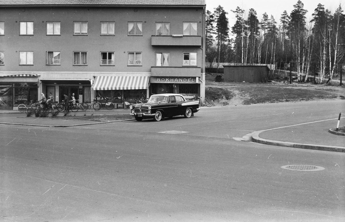 Leiret, Elverum. Krysset Storgata / St. Olavs gate.