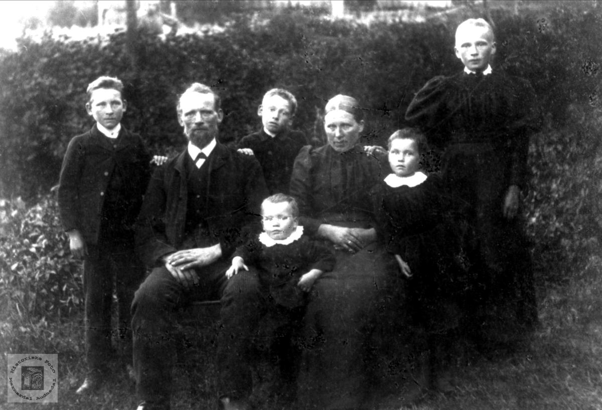 Familiebilde Petter Anderson Nome m fl.