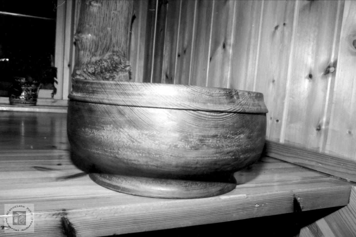 Ca. 3000 år gammelt trevirke lagt til bolle