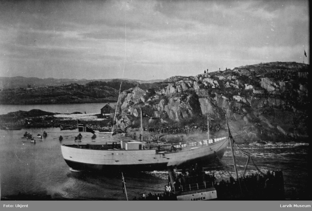 Fartøy, polarskipet Fram blir bygget i Rekkeviksbukta.