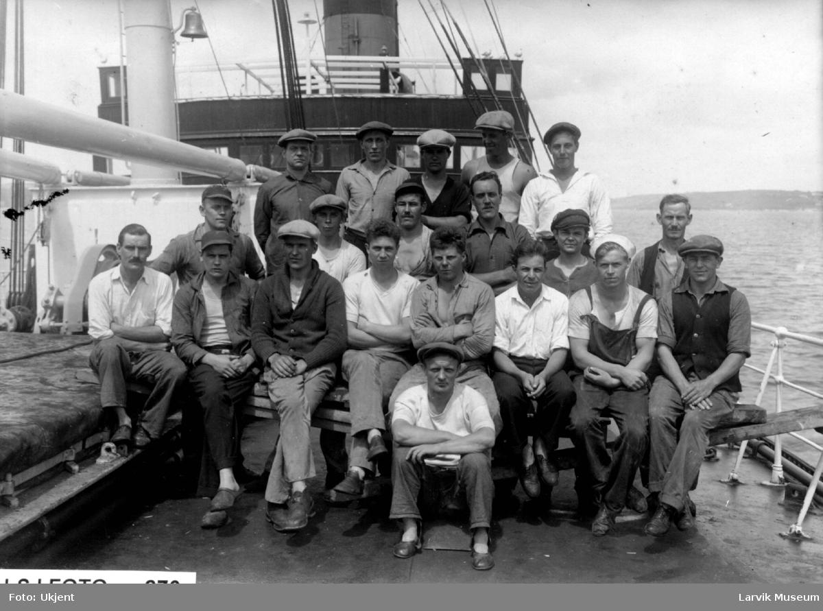 båtmannskap, skip ukjent