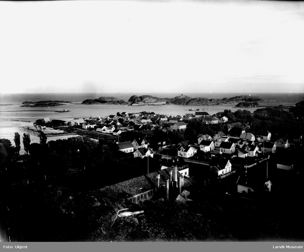 bebyggelse, oversiktsbilde, Stavern