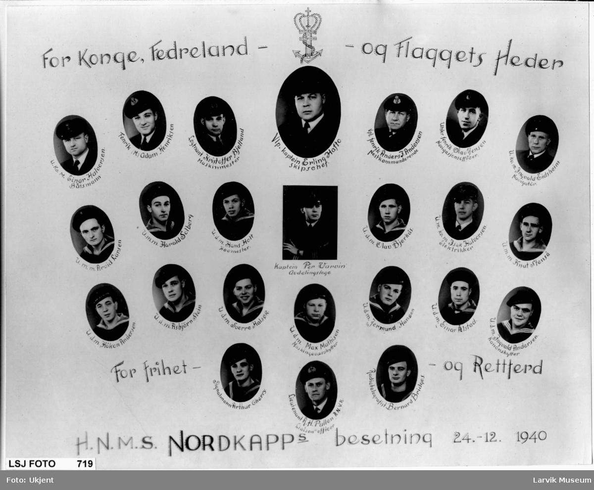 HNMS Nordkapps bestning 1940