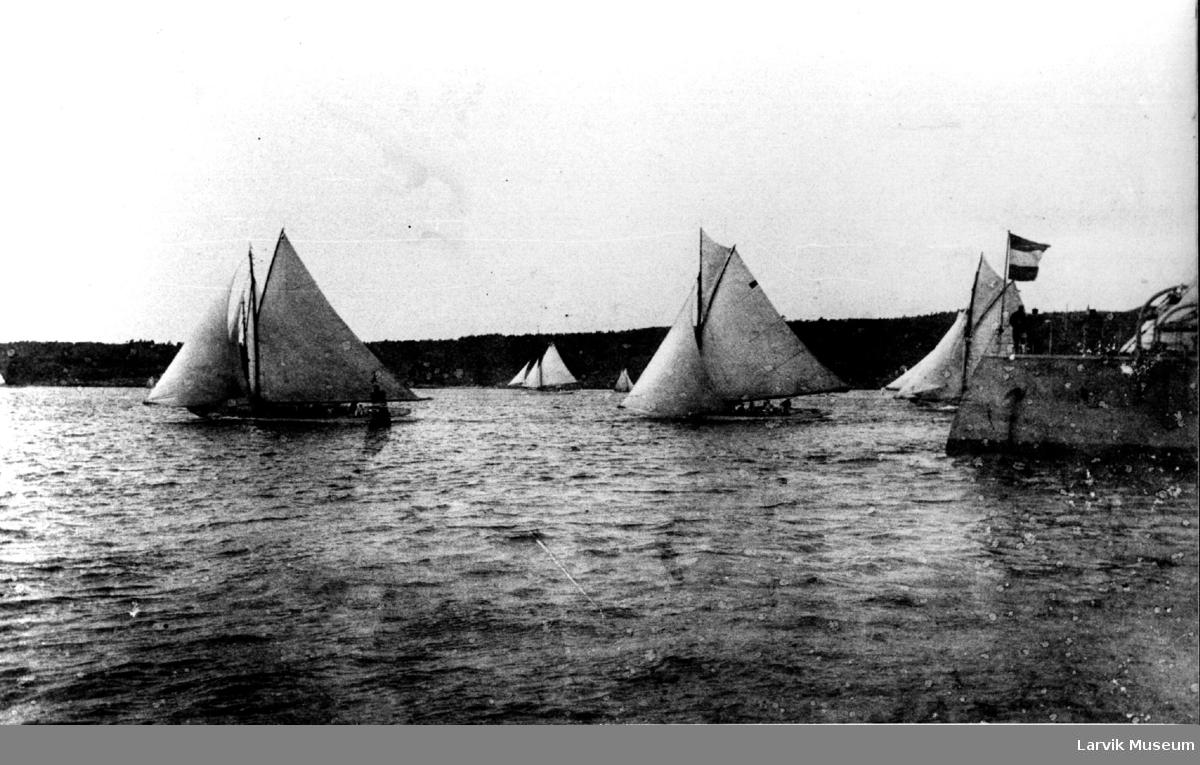 Landsregatta, Larviksfjorden 1899