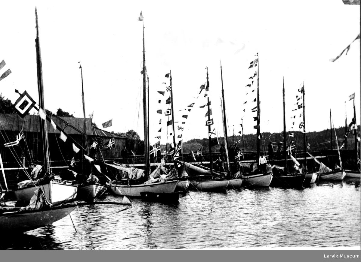 Seilbåter, regatta,