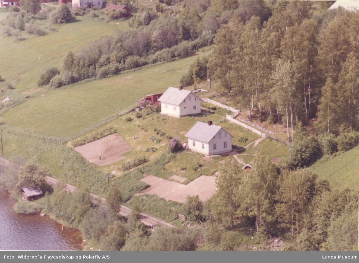Flyfoto Birkeli, søndre og nordre
