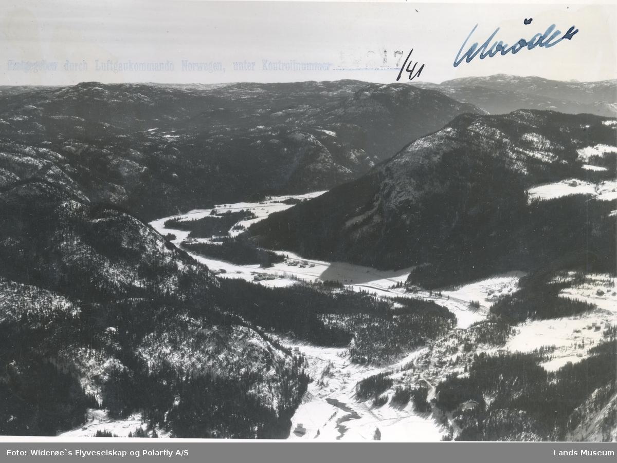 Flyfoto Fønhus i Begnadalen