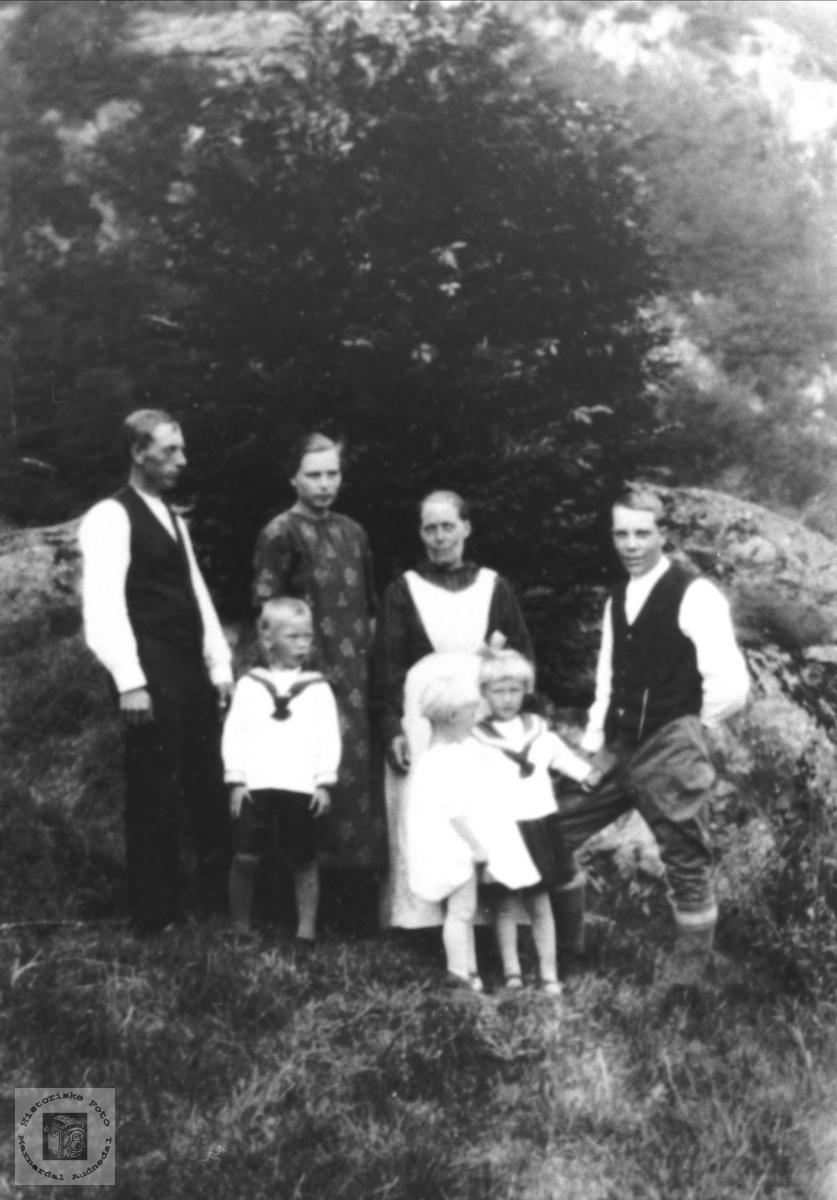 Familiegruppe på Solås