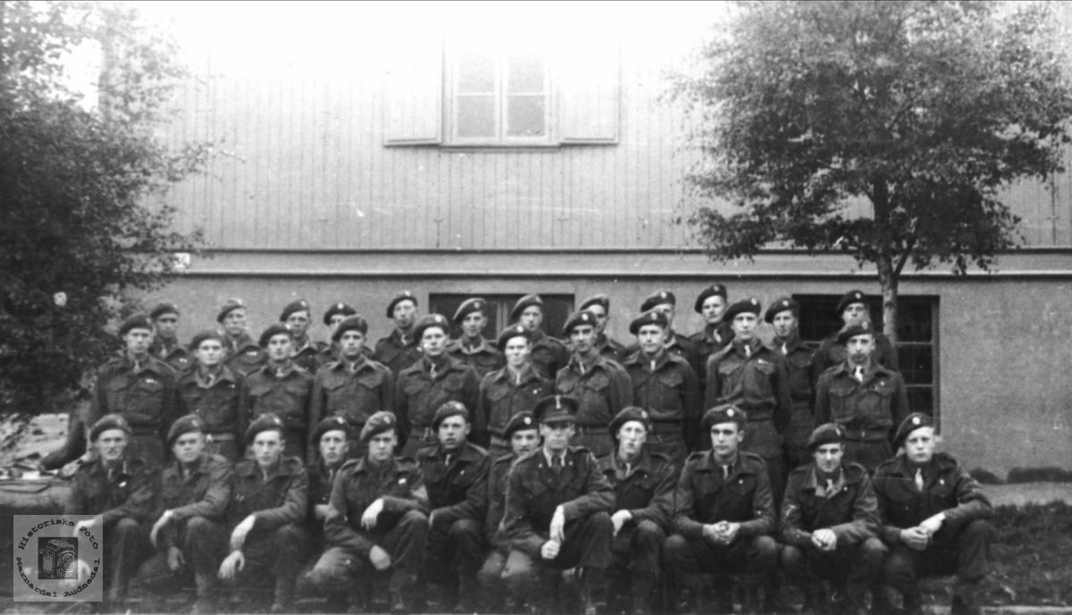 3. tropp, Kp, C, 2. bat. brigade nr. 491.