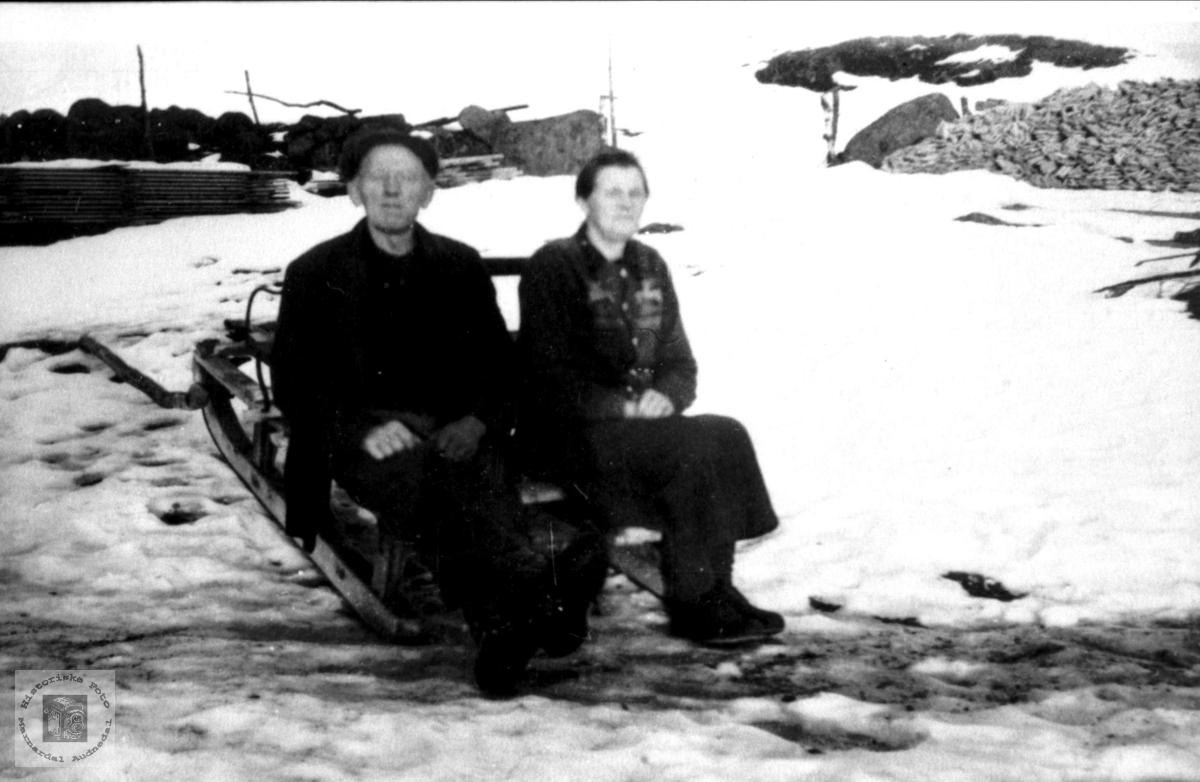 Ektepar. John og Randi Tisland.