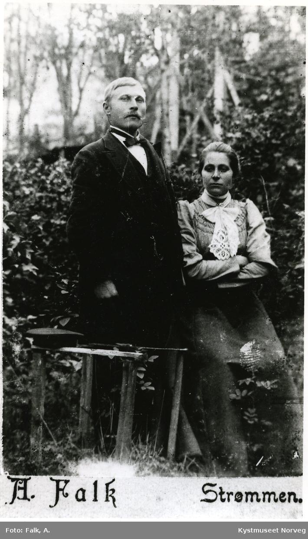 Ekteparet Ingeborg Johannesdatter Vassli og Ingvald Karlsen Vassli