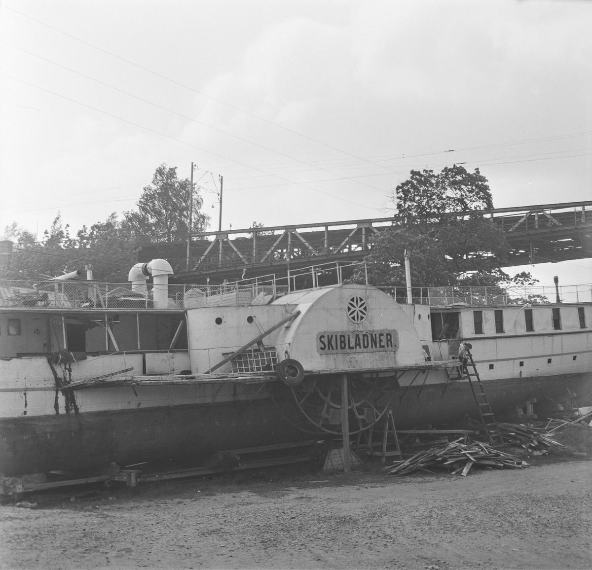 D/S Skiblander slippsatt på Minnesund
