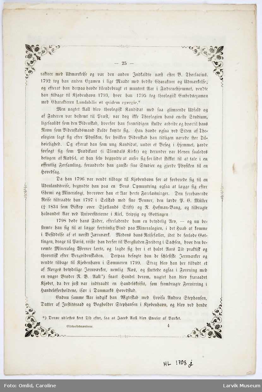 fortsettelse av tekstark I fra side 25-32 - 8 sider