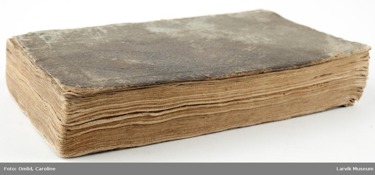 Prekener, sekundært samlet og sammenbundet til 174 sider