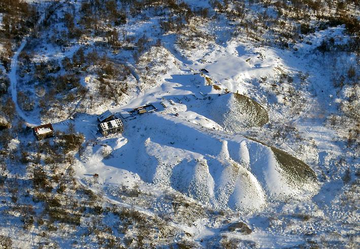 Rødalen gruve i Nordgruvefeltet