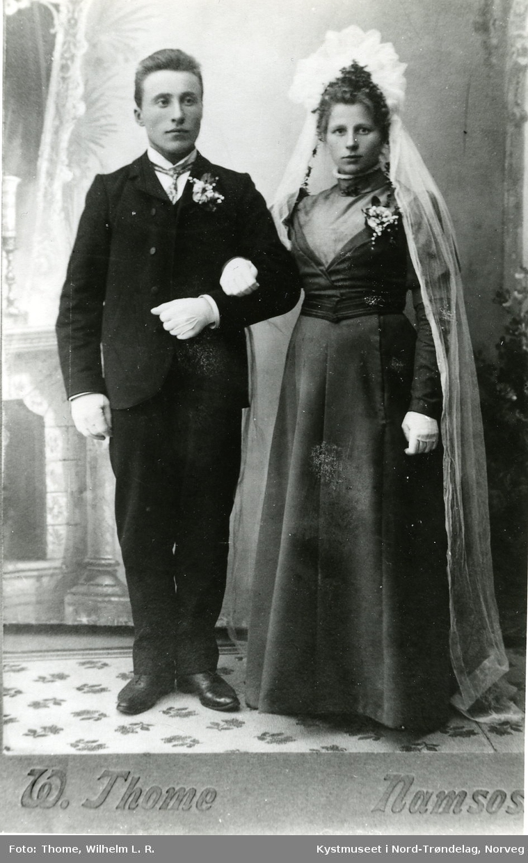 Laura og Karl Anton Høstland