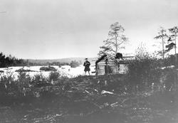 """Fra Skogfoss """"Männika"""", september 1896."""