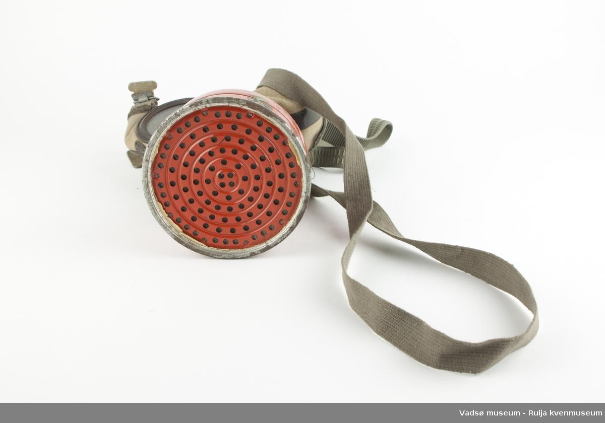 Gassmaske, for sivile.