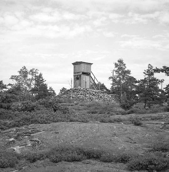 Hogdal socken. (Sten och utsiktstorn).