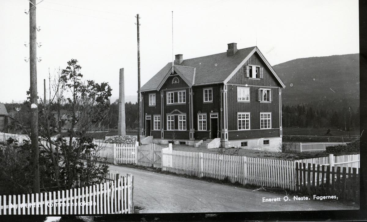 Kommunehuset for Nord-Aurdal, som ble bygget i 1930-1931 på Leira
