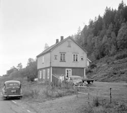 Hillestad stasjon på nedlagte Tønsberg-Eidsfossbanen.
