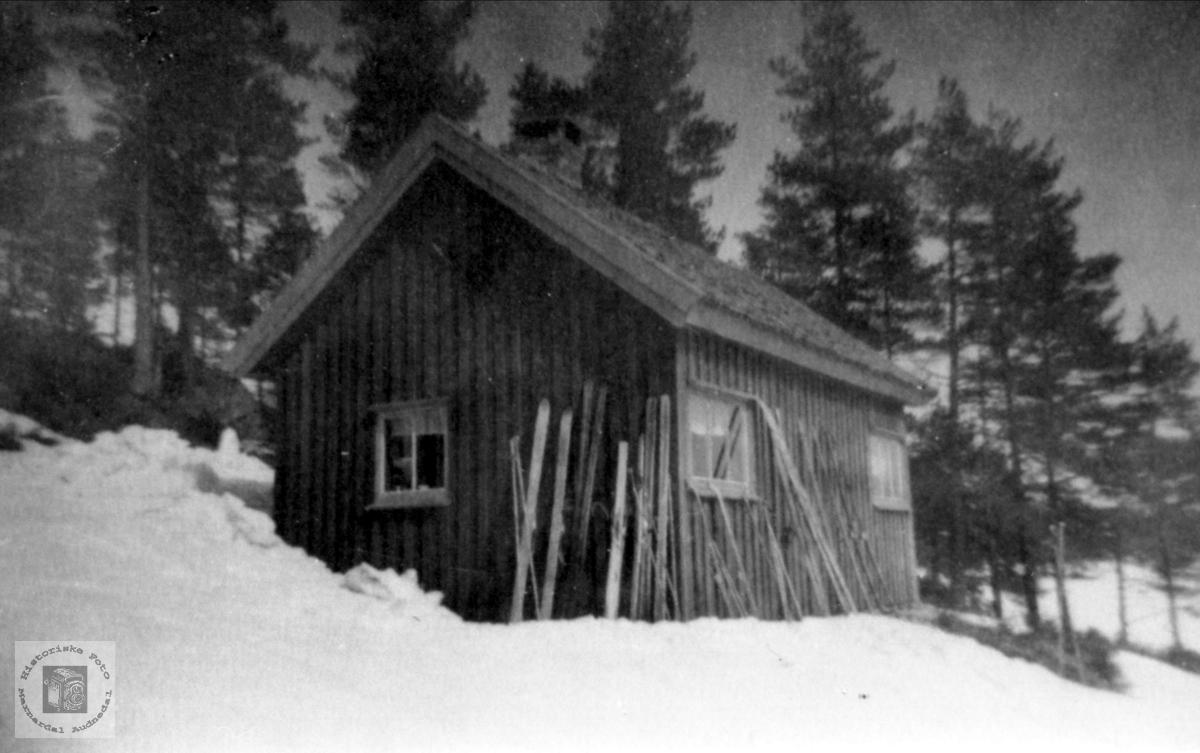 Fidjehytta, Songdalen