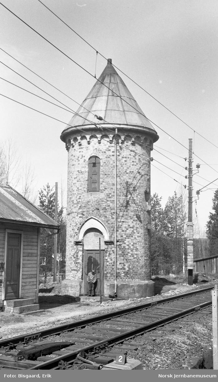 Vanntårnet på Stryken stasjon