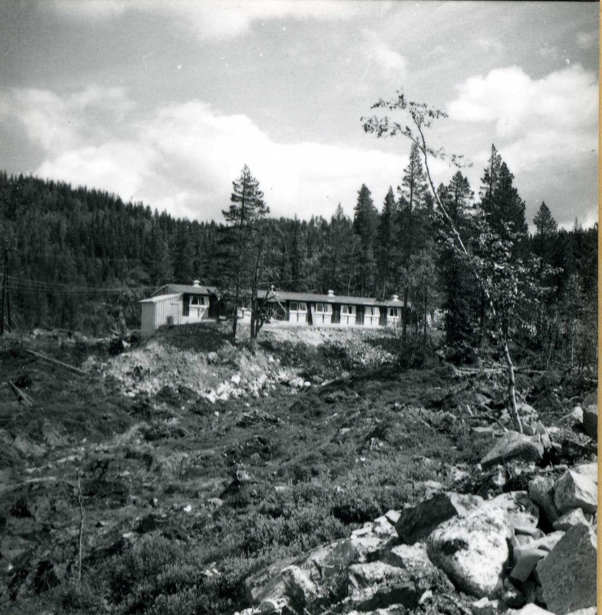 Inntak og dam. Våmar vatn + Kåsvatn  (3)