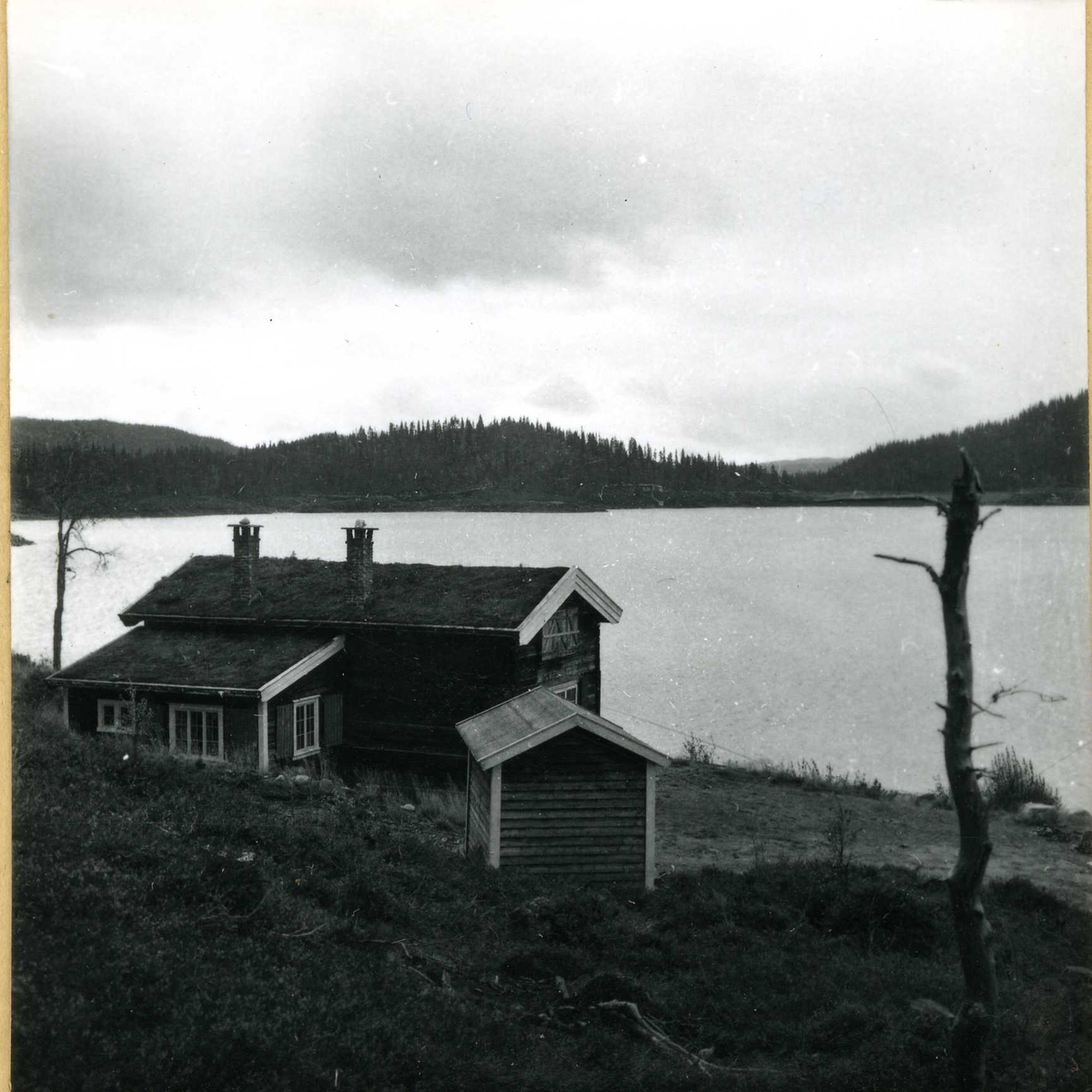 Inntak og dam. Våmar vatn + Kåsvatn  (33)