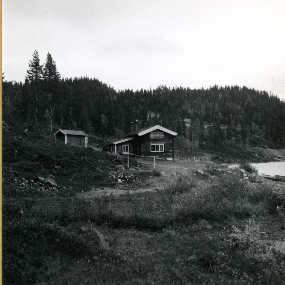 Inntak og dam. Våmar vatn + Kåsvatn  (34)