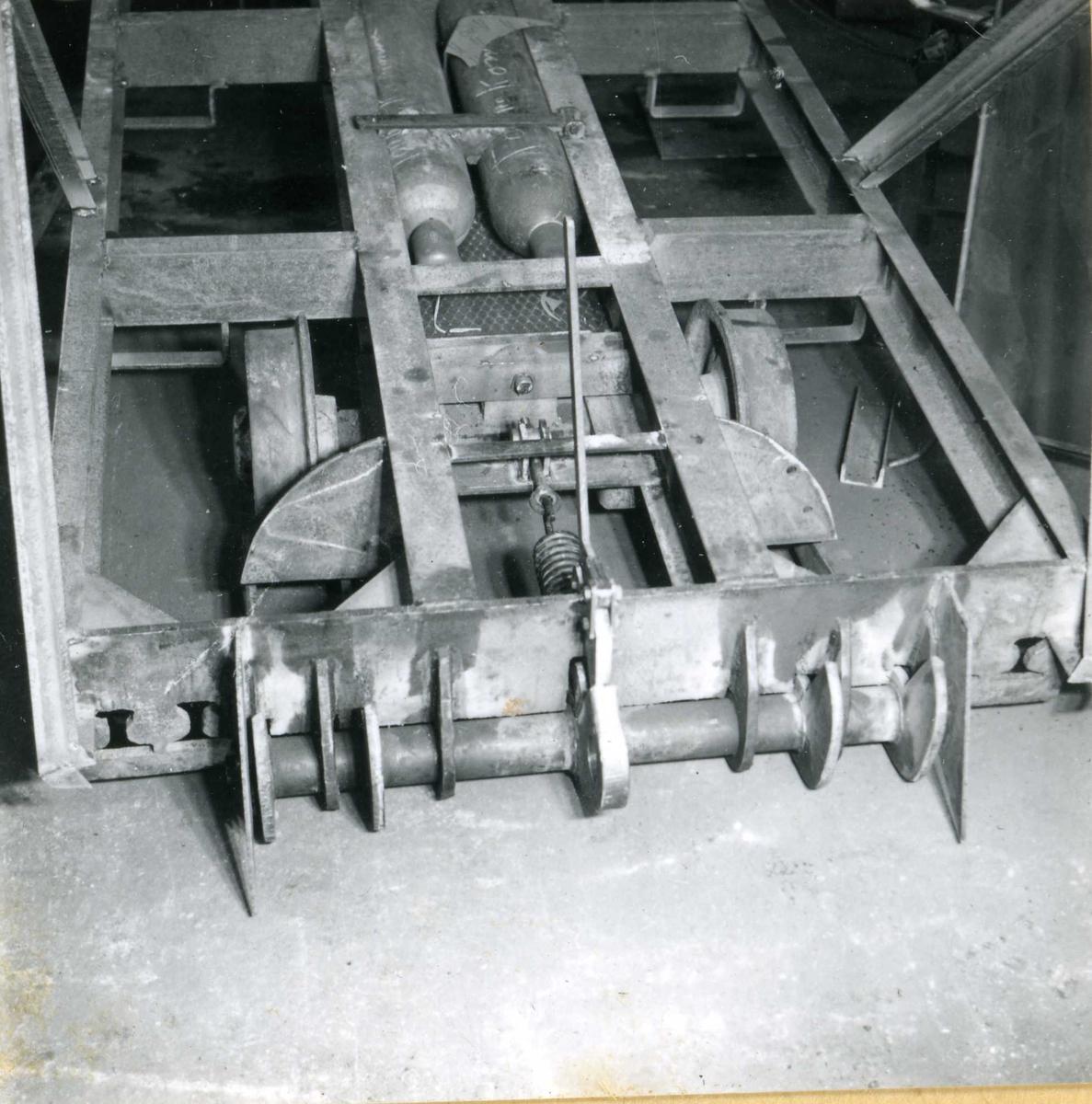 Dalen 47, maskiner og deler