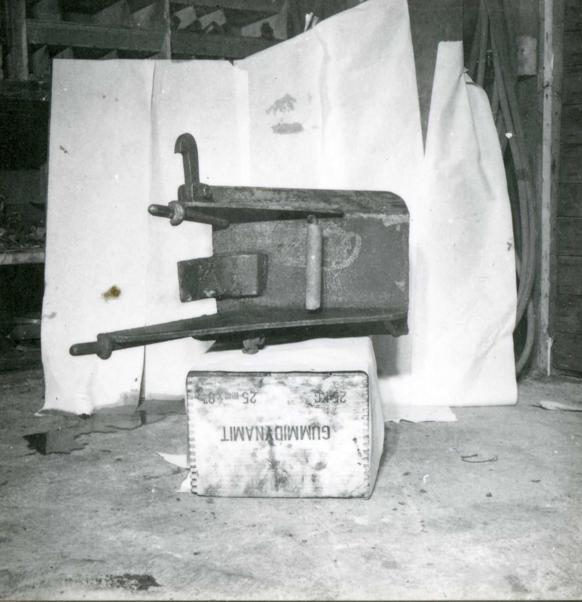 Dalen 92, maskiner og deler