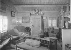 Reidar Landgraffs bolig på Lian - interiør
