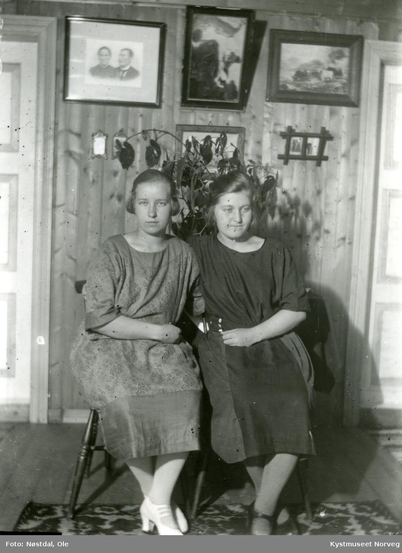 Bergliot og Paula fra Gravvik