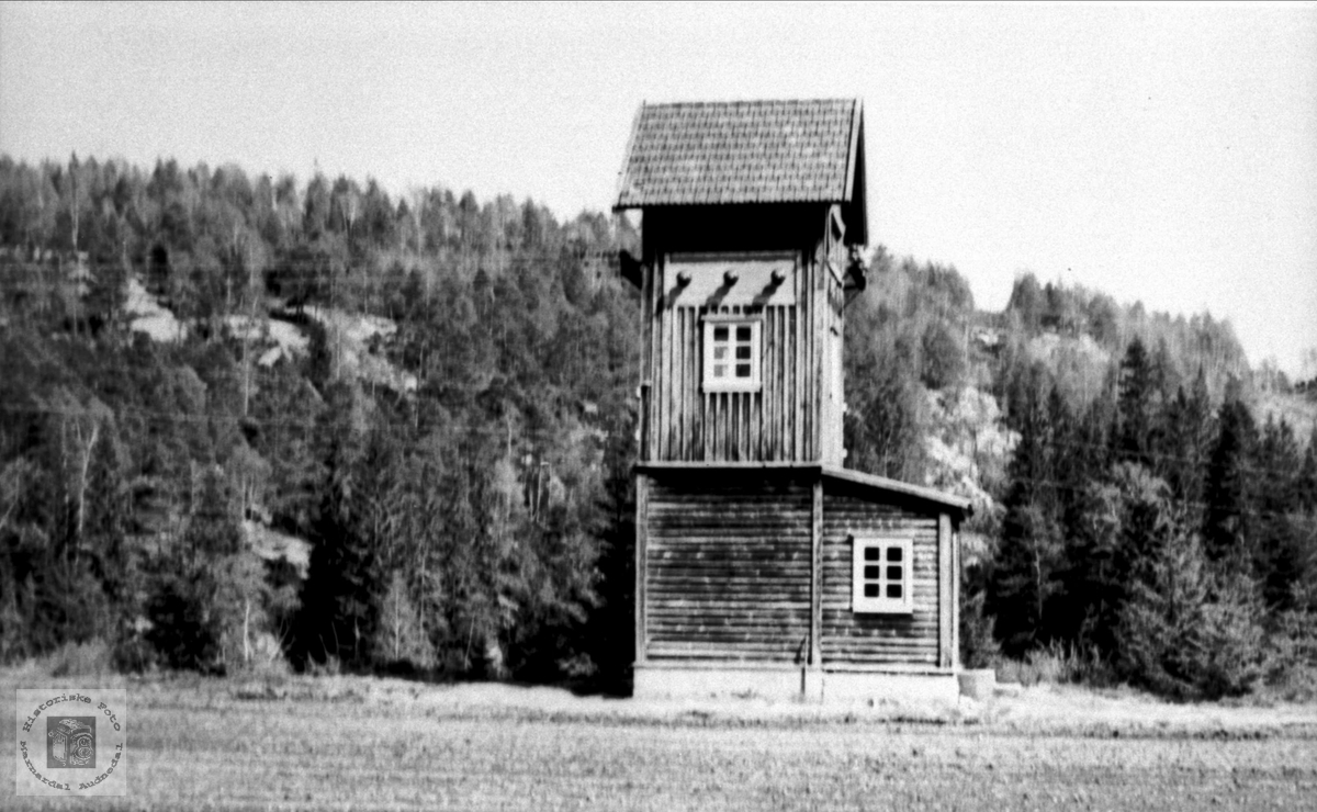 Elektrisk kiosk på Bergan, Bjelland