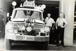 Ringerike brannstasjon Brannbilen er en International årsmo