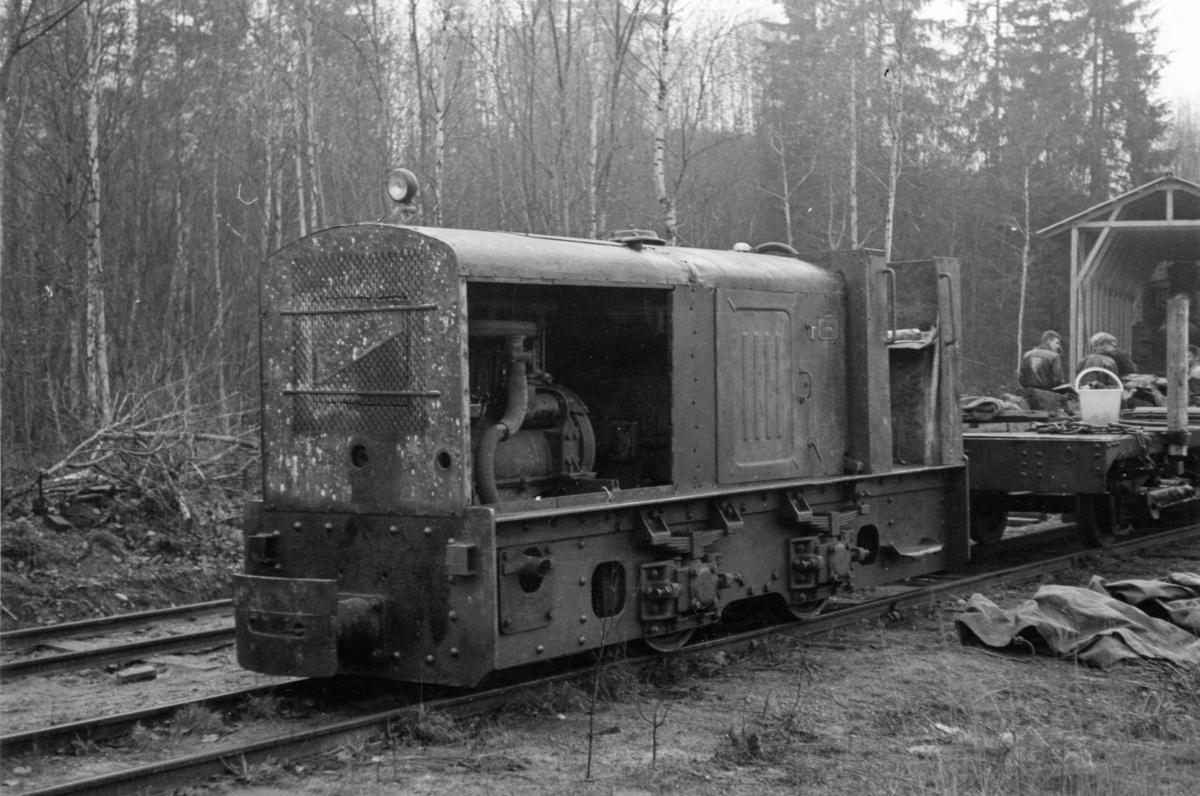Urskog-Hølandsbanens diesellok, bygget hos Arn. Jung.
