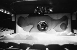 "Nationaltheateret. ""Spöksonaten"" prøver. 10/9-72"
